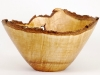 natural edge old growth maple bowl